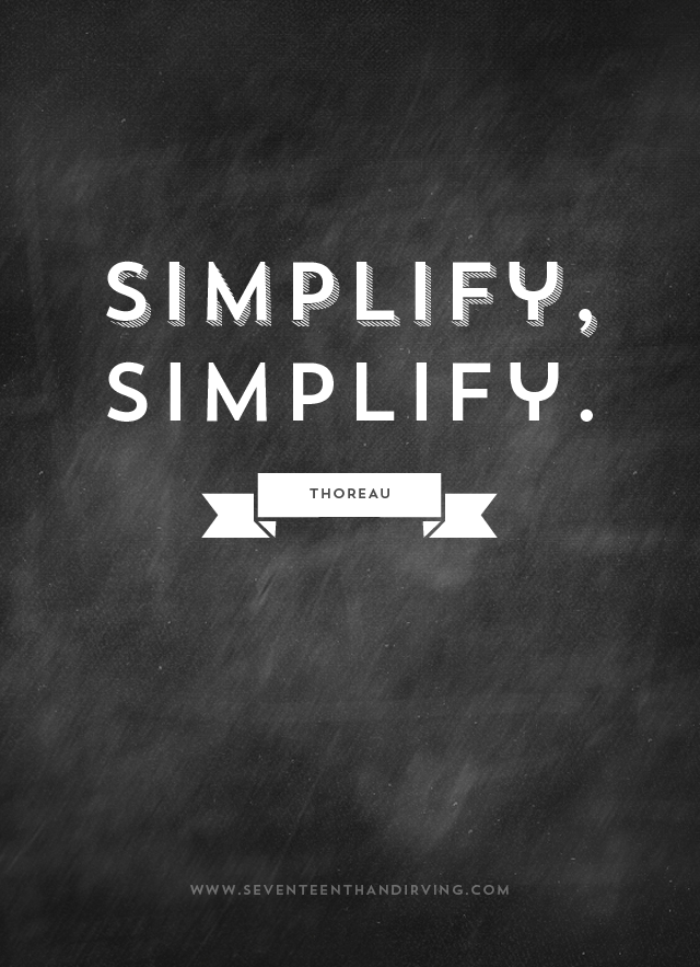 Famous Quotes About Simplify Sualci Quotes