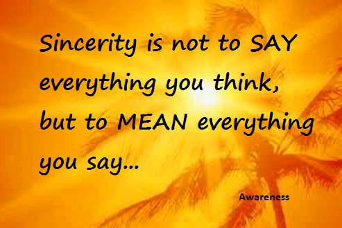 Sincerity quote #2
