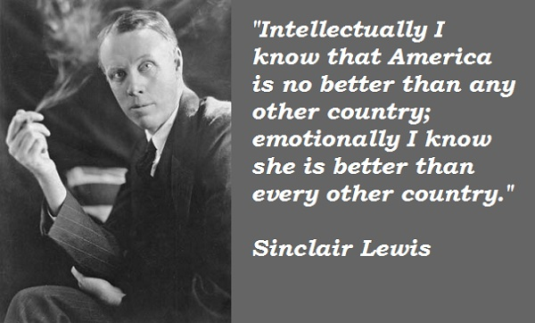 Sinclair Lewis's quote #2