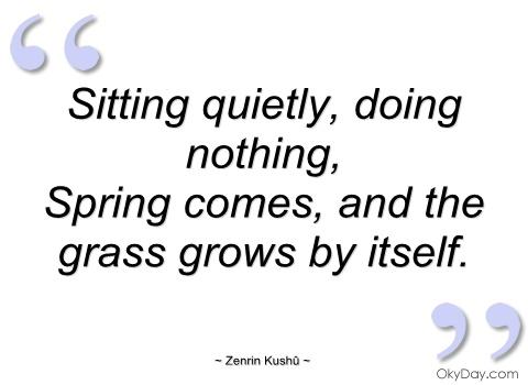 Sitting quote #3