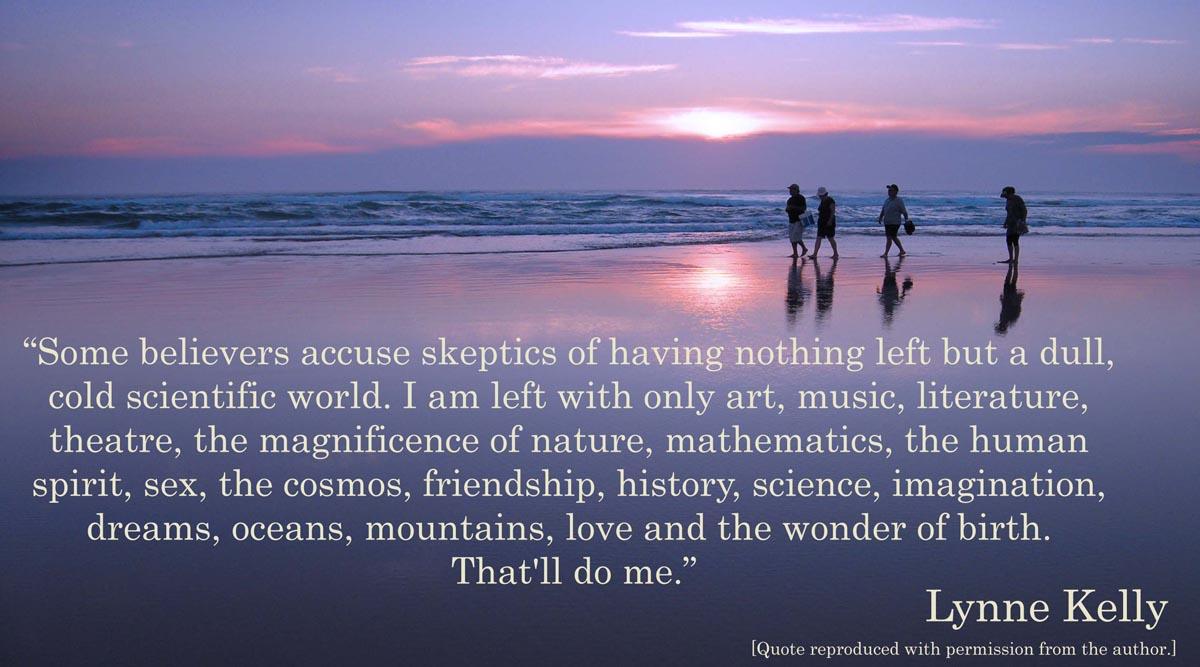 Skeptics quote #1