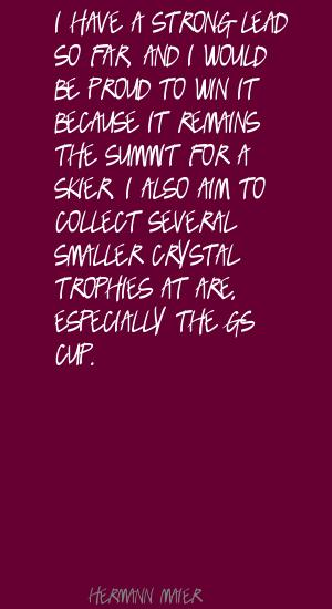 Skier quote #1