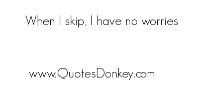 Skipping quote #2