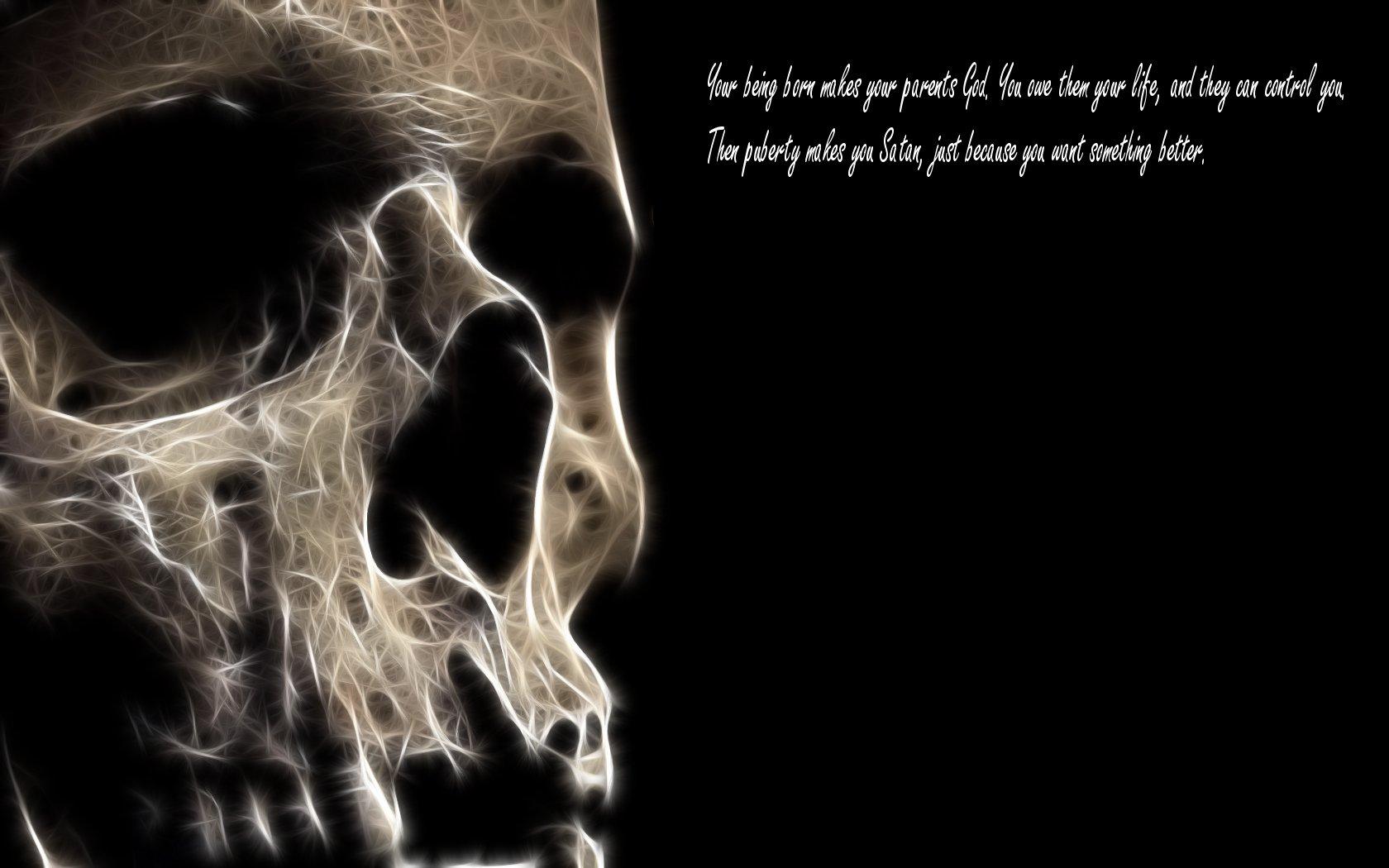 Skull quote #1