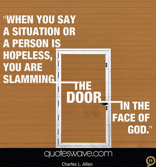 Slamming quote #1