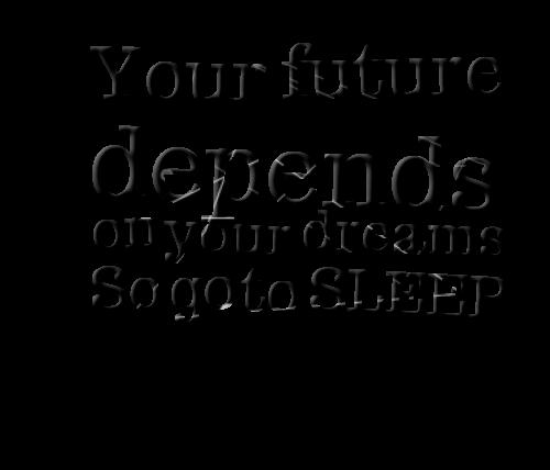 Sleep quote #2
