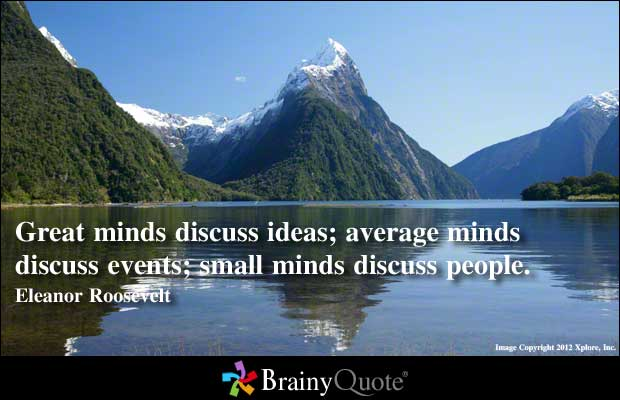 Small Minds quote #1