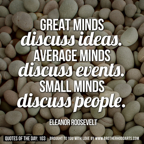 Small Minds quote #2