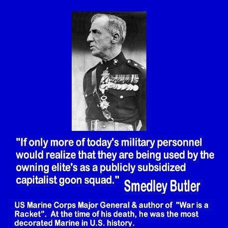 Smedley Butler's quote #3