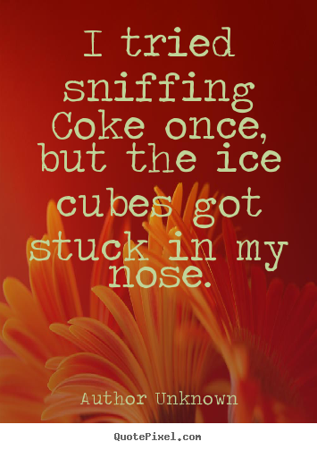 Sniffing quote #2