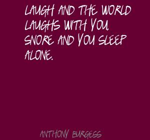 Snore quote #1