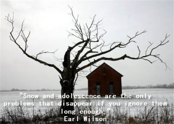 Snow quote #1