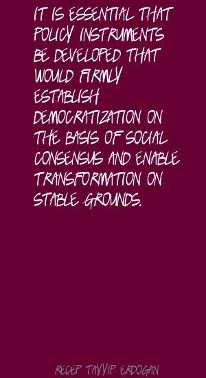 Social Consensus quote #1