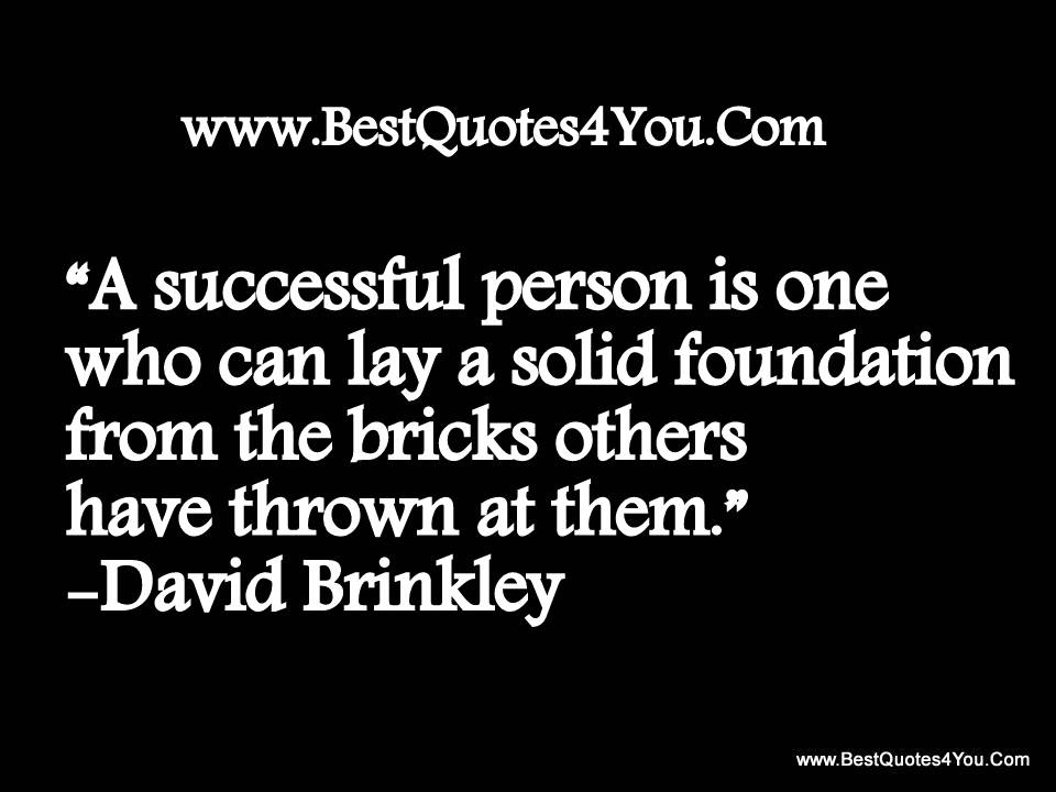 Solid Foundation quote #2