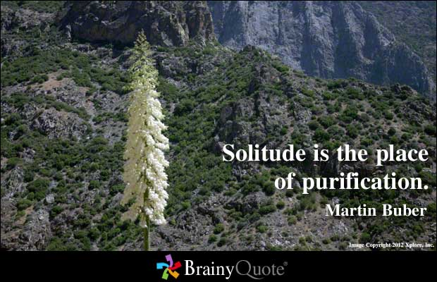 Solitude quote #1