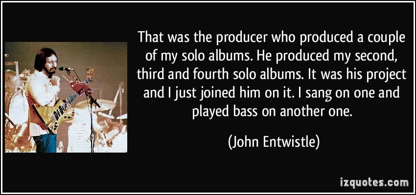 Solo Albums quote #2