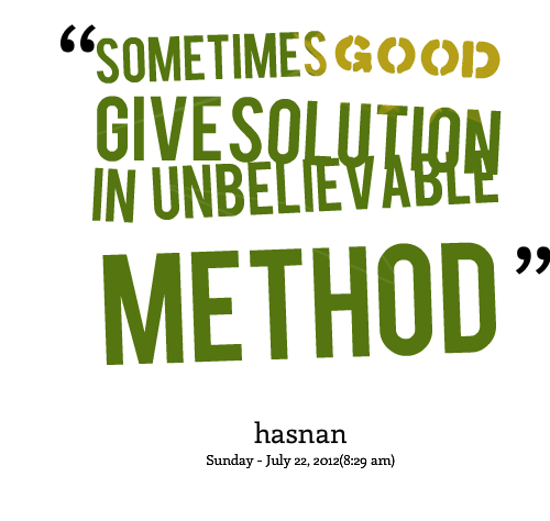 Solution quote #5