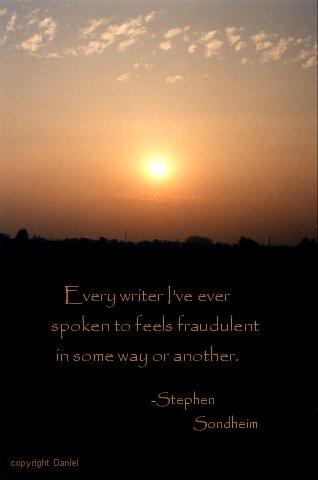 Sondheim quote #1
