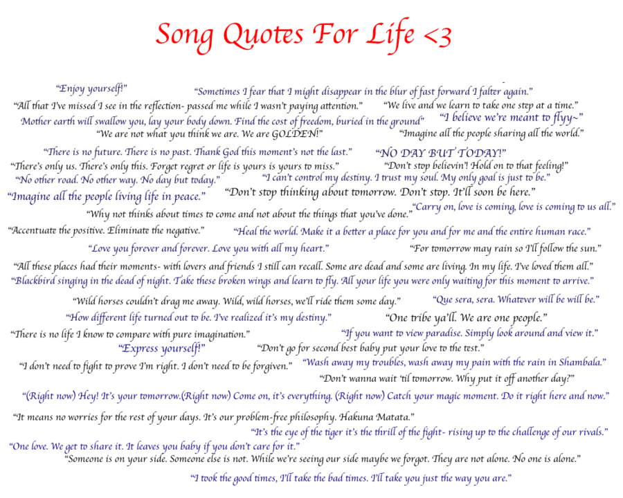 Song quote #5