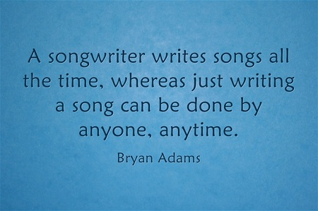 Songwriters quote #1