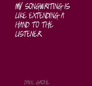Songwriting quote #2