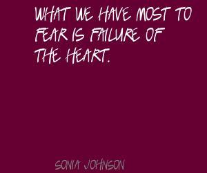Sonia Johnson's quote #3