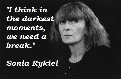 Sonia Rykiel's quote #6