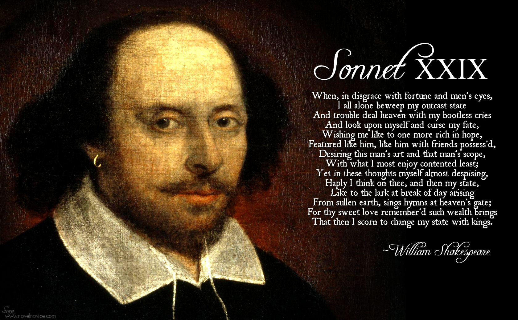 Sonnets quote #1