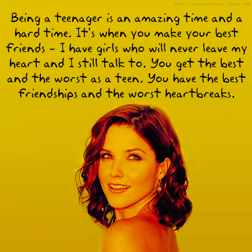Sophia Bush's quote #3