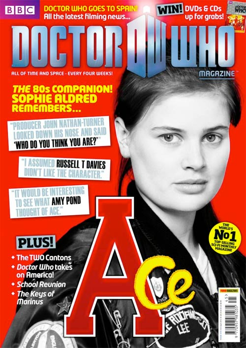 Sophie Aldred's quote #1
