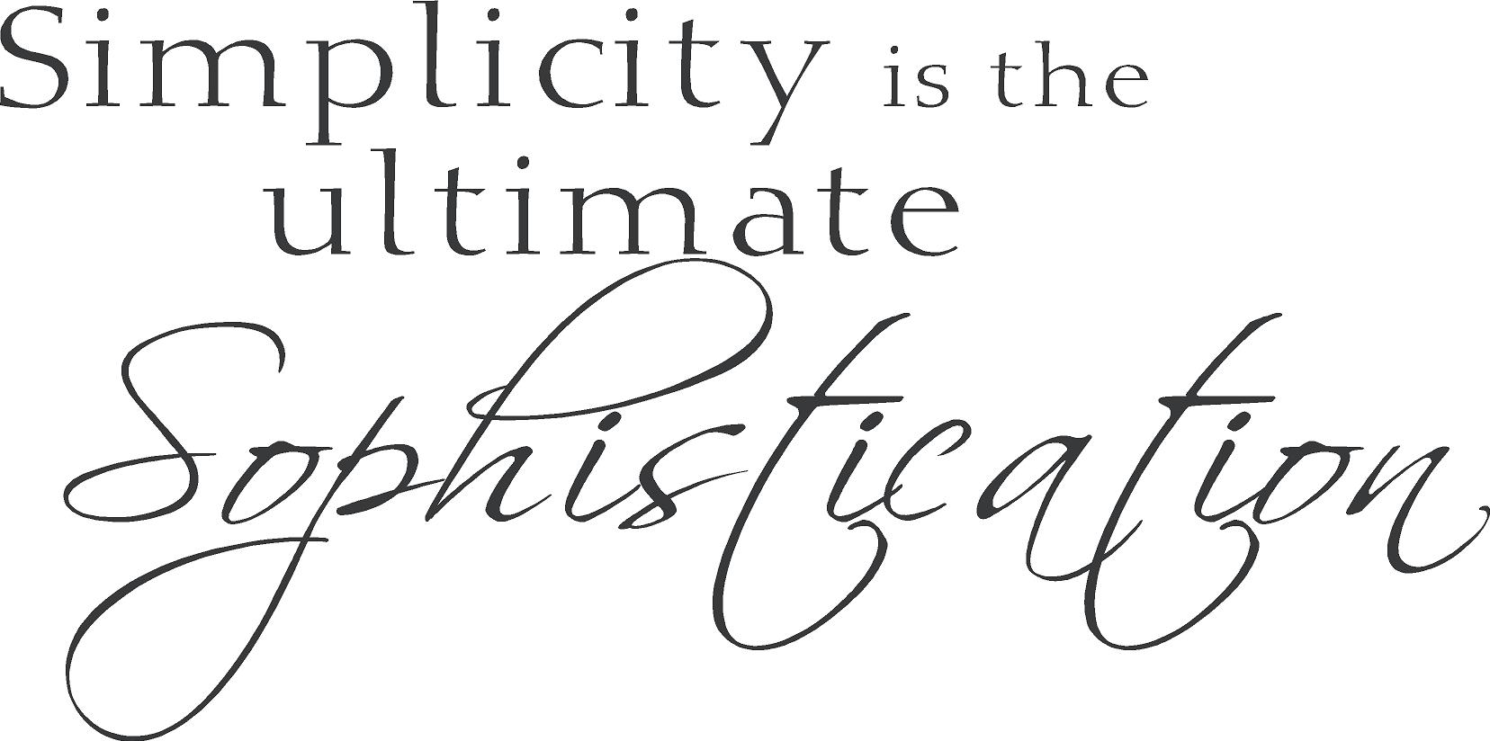 Sophistication quote #2