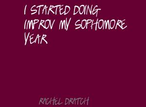Sophomore Year quote #2