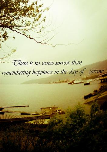 Sorrow quote #2
