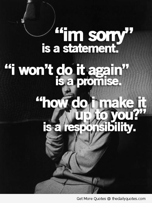 Sorry quote #4