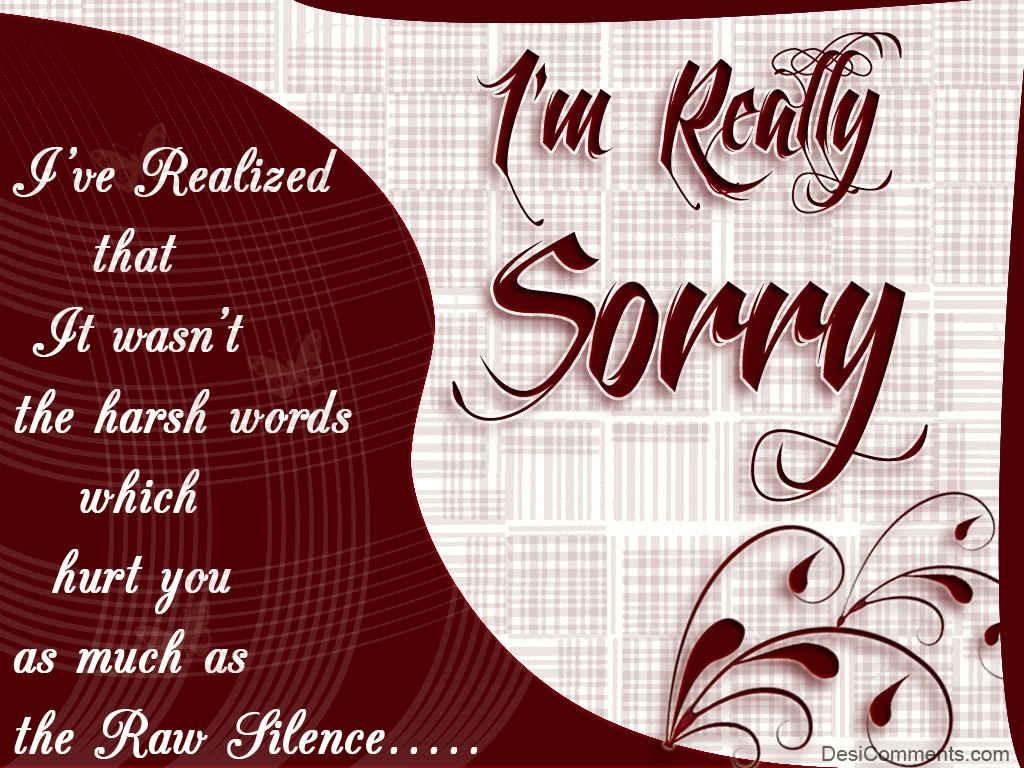 Sorry quote #5
