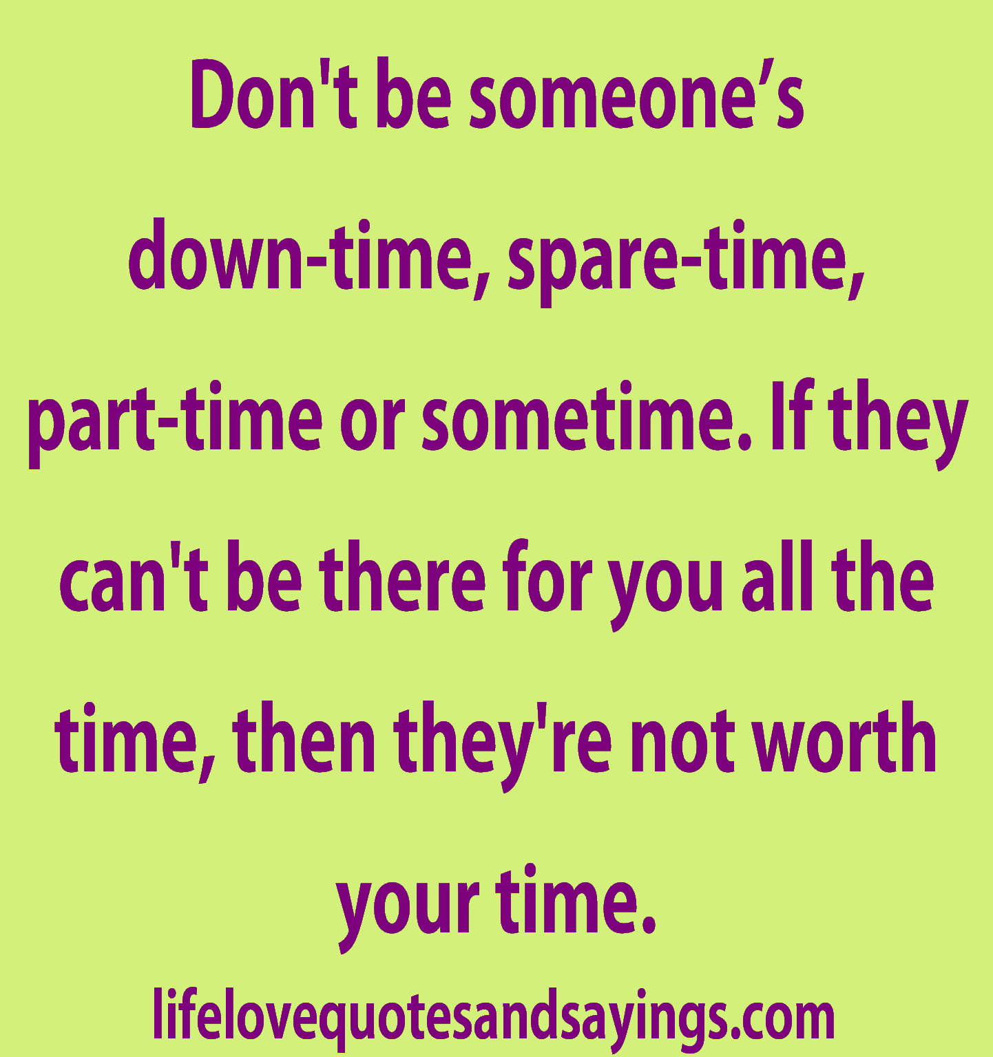 Spare Time quote #2
