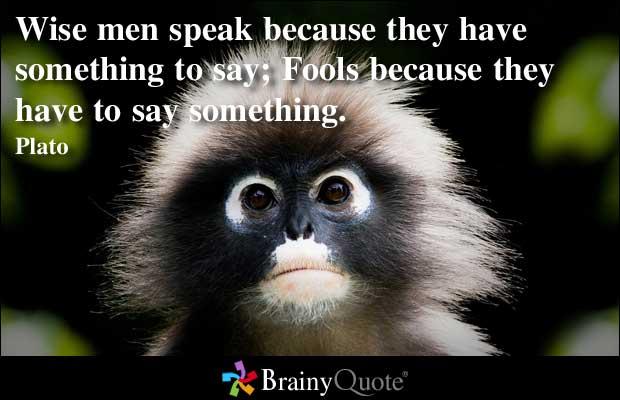 Speaks quote #1