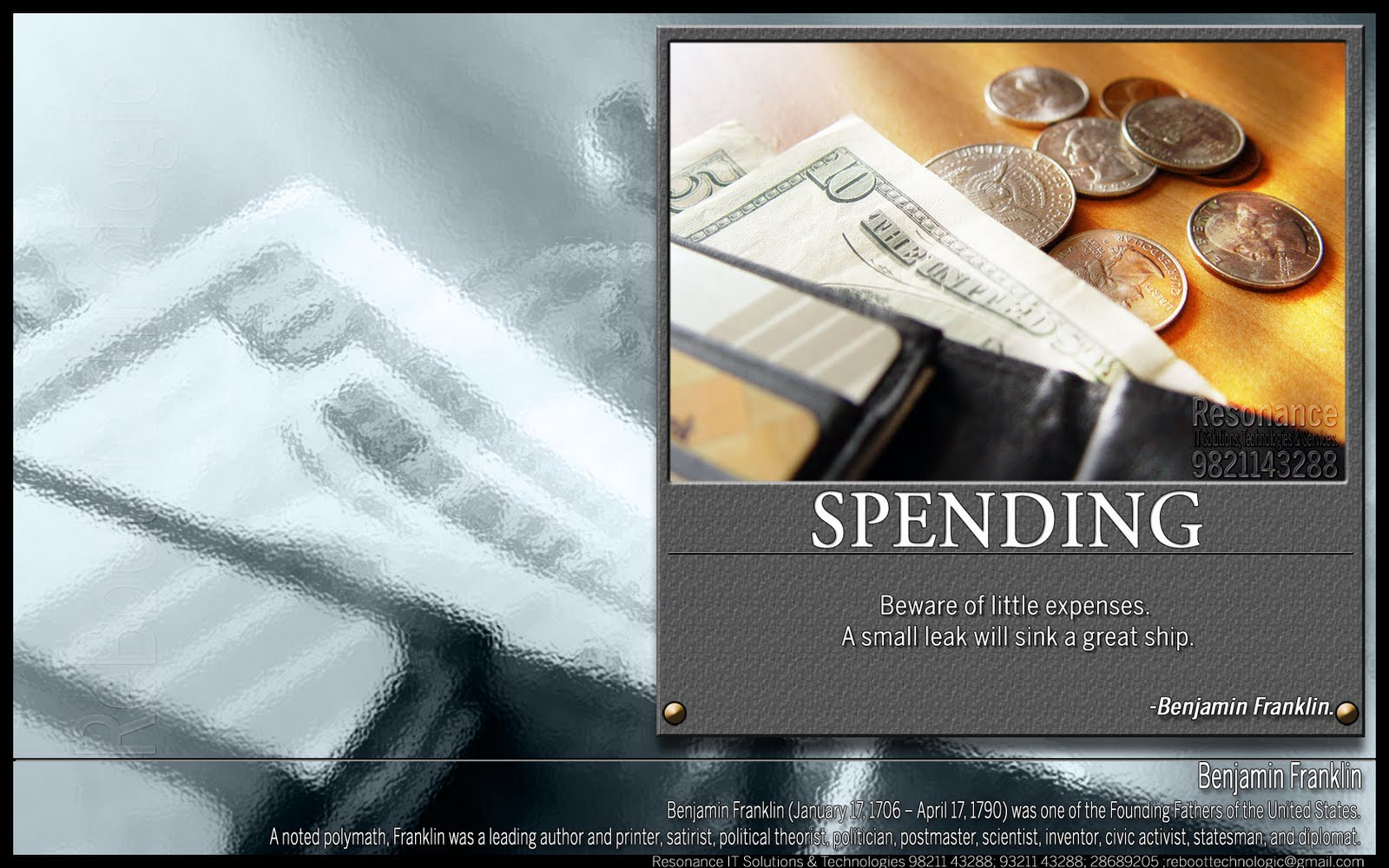 Spending quote #1