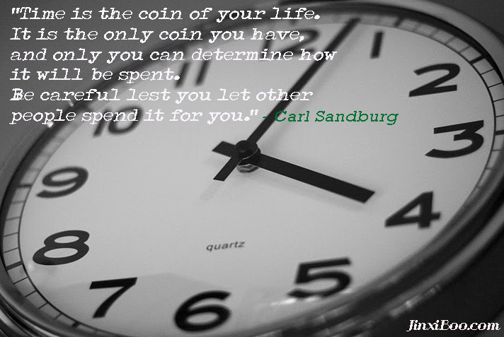 Spending Time quote #1