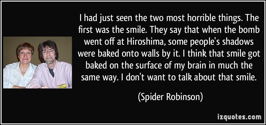 Spider Robinson's quote