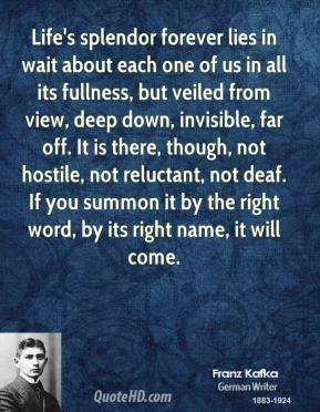 Splendor quote #1