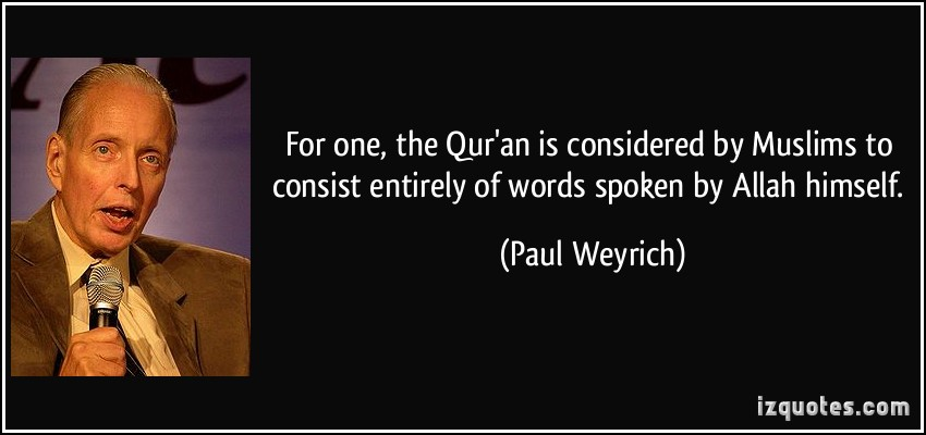 Spoken quote