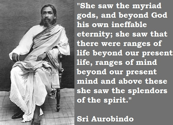 Sri Aurobindo's quote