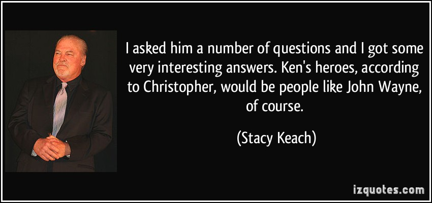 Stacy Keach's quote #7