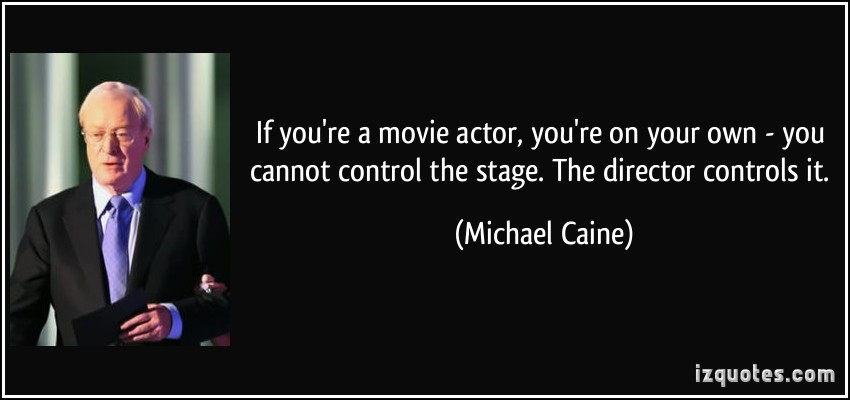Stage Actor quote #1