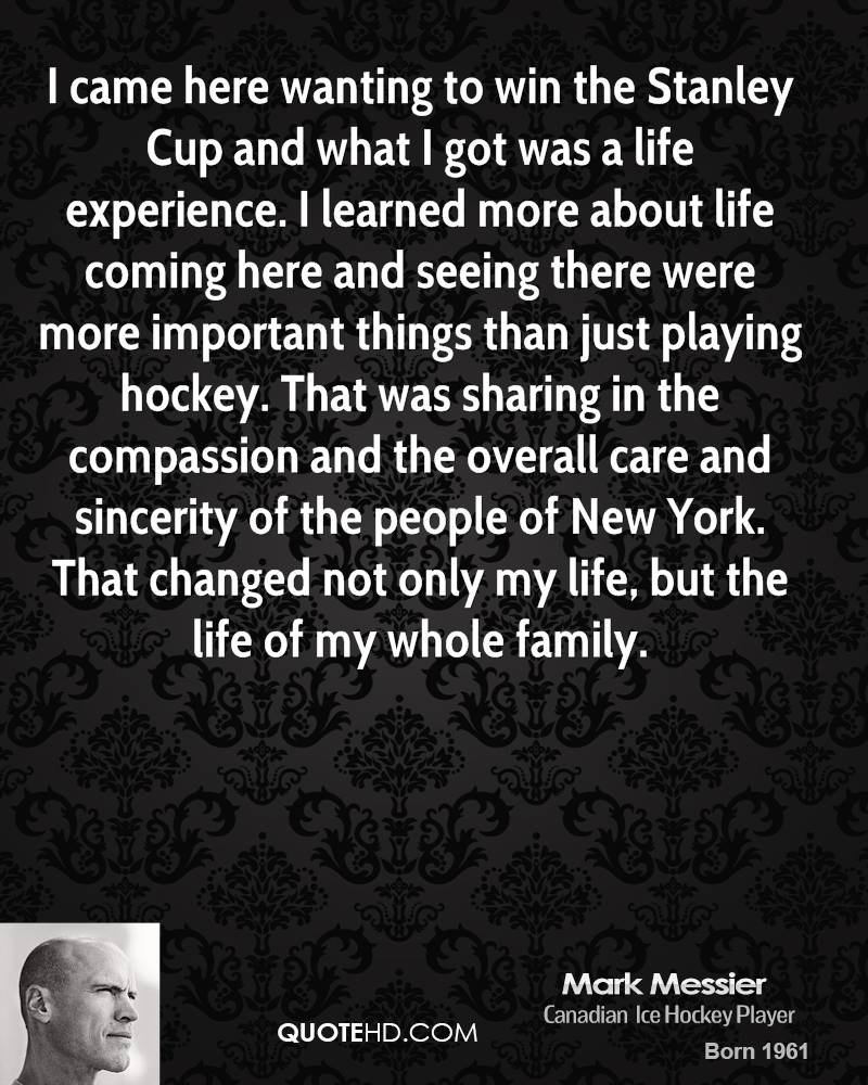 Stanley Cup quote #1
