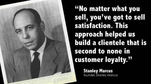 Stanley Marcus's quote #1