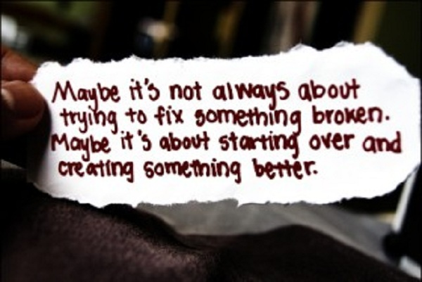 Starting Over quote #1