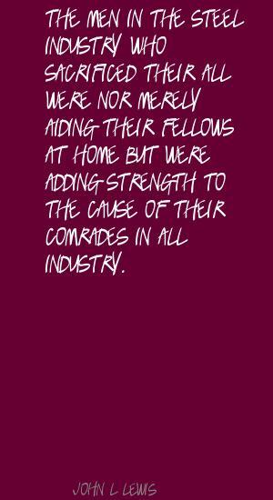 Steel Industry quote #2