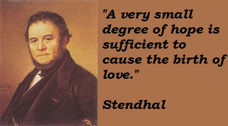 Stendhal's quote #5